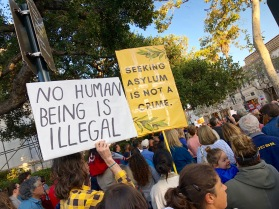 Over 400 people attended the Where Are the Children community gathering supporting Keep Families Together in Santa Barbara California on Wednesday June 20th, 2018.